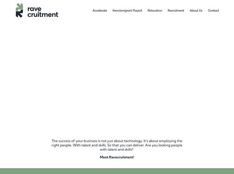 rave-website-animation